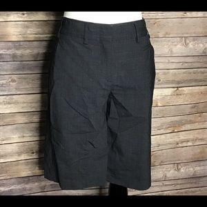 Women's BCBG dark grey dressy shorts in size 6